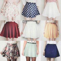 #Cute #skirts skirt korean fashion patterns summer spring style                                                                                                                                                                                 More