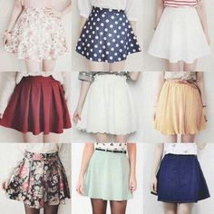 #Cute #skirts skirt korean fashion patterns summer spring style                                                                                                                                                                                 More