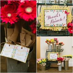 Floral Baby Shower Ideas - Floral baby showers are so on trend this spring, and this baby shower has us swooning for all the new babies that will make their entrance in the coming months. #babyshower