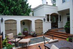 Outdoor living - mediterranean - patio - other metro - Samuel H. Williamson Associates