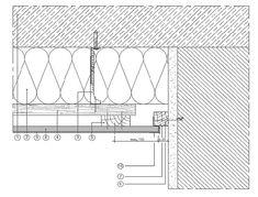 Schattenfuge mit sichtbarem Anschlussholz Holzbau detail decke