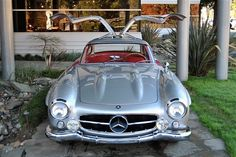 From 1954-1957 Mercedes-Benz produced one of the most iconic cars of the modern era called the 300SL, which was also known as the Gullwing for its trademark doors. Ironically, the unique doors (necessitated by its space-frame chassis with extraordinarily wide and high door sills) were more a functional necessity than design flourish, yet they resulted in bestowing the 300SL with its most-recognizable feature.
