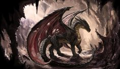 DSNG'S SCI FI MEGAVERSE: FANTASY DRAGONS CONCEPT ART GALLERY!