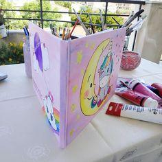vivlio eyxon unicorn monokeros Toy Chest, Storage Chest, Unicorn, Hand Painted, Toys, Fun, Home Decor, Activity Toys, Decoration Home