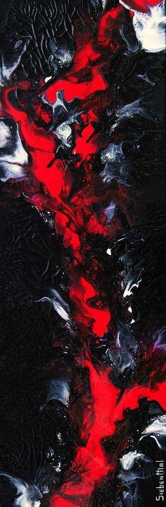 Wicked Wish - Fluid Acrylic Art by Eric Siebenthal - Acrylicmind.com