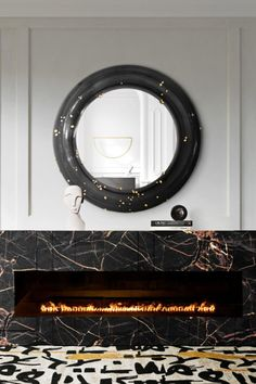 Start by getting rid of the cold by having a fireplace at the entrance! The MUSA Fireplace is a splendid option not only to get your home warm but also to give your entryway a statement item that elevates the design of the rest of the house! With also the BELIZE Mirror and INKAHOLIC Rug, designing an elegant, welcoming and sophisticated entrance was never this easy!