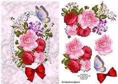Rose Bouquet Card Front