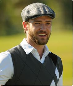 I know he's not a woman, but still.....he makes golf clothes look good :)