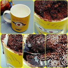 ♡♡ Mug Cake de Chocolate♡♡Microondas♡♡¡¡En 2 Min!! Tremendamente♡♡ Delicioso♡♡ | Las Recetas & Trucos de Anna