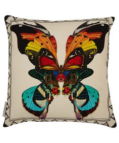 KRISTJANA S WILLIAMS STUDIO FIDRILDIN 02 PRINT CUSHION  £125.00