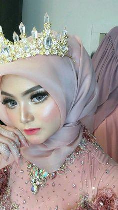 Wedding Looks, Wedding Make Up, Dream Wedding, Wedding Dreams, Aloe Vera Toner, Wedding Styles, Wedding Photos, Hijab Wedding Dresses, Hijab Outfit