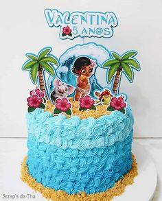 Moana Birthday Party, Moana Party, Birthday Cake, Festa Moana Baby, Cake Designs For Girl, Bolo Barbie, Moana Disney, Bolo Minnie, Alphabet Coloring Pages