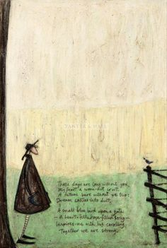 """Panter & Hall: Sam Toft - """"These Days are Long Without You"""" New Artists, Famous Artists, Jack Terrier, Karla Gerard, Love Sam, Encaustic Art, Naive Art, Folk Art, Illustration Art"""