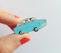 "This Ford Anglia pin: | 19 ""Harry Potter"" Pins Every Fan Will Want To Buy Immediately"