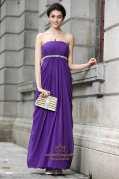 Bright Purple Bridesmaid Dresses 2016 - http://misskansasus.com/bright-purple-bridesmaid-dresses-2016/