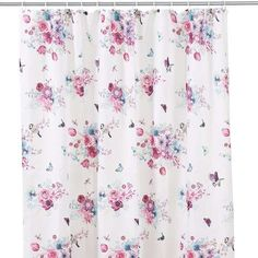 Flora and Fauna Shower Curtain