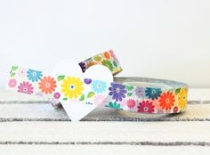 Floral Washi Tape Washi Tape Paper Tape by MailboxHappiness