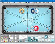 PoolShot, The Pool Aiming Training Software - Aiming Pool Table Games, Bar Games, Game Tables, Pool Tables, Billard Snooker, Pool Sticks, Training Software, Chalk Holder, Play Pool