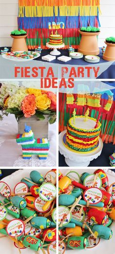Fiesta Themed Birthday, Fiesta Party Ideas, Pinata Themed Cake, Pinata themed party, pinata themed backdrop, Fiesta Themed first birthday