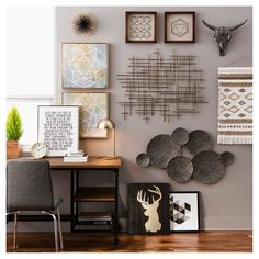 Black & Gold Wall Décor Collection - Threshold™ : Target