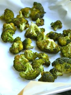 Baked Broccoli from Rachel Schultz