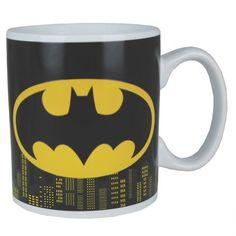 Une belle tasse thermoréactive Batman, pour frimer devant les collègues au boulot !
