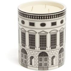 Fornasetti Architettura Otto-scented large candle (2 175 SEK) ❤ liked on Polyvore featuring home, home decor, candles & candleholders, inspirational home decor, fragrance candles, scented candles, fornasetti candles and fornasetti