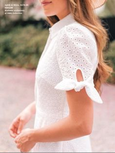 Im going to be living in this come April (it also comes in blush!) AND 20 more days! Dress Neck Designs, Designs For Dresses, Sleeve Designs, Kurta Designs, Blouse Designs, Simple Dresses, Casual Dresses, Modest Fashion, Fashion Dresses