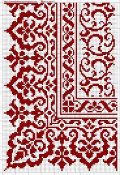 Cross Stitch Cushion, Cross Stitch Art, Cross Stitch Borders, Cross Stitch Flowers, Cross Stitch Embroidery, Cross Stitching, Cross Stitch Sampler Patterns, Needlepoint Patterns, Cross Stitch Designs