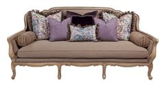 MASSOUD. The 7741 sofa highlights French style, 100% linen Parson Flax fabric and a hand-finished wood frame. Retail is $3,999. Featured in the May 6, 2013, Issue of Furniture Today.