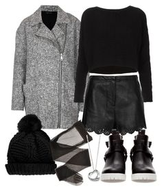 """""""Untitled #6483"""" by florencia95 ❤ liked on Polyvore featuring Topshop, Elsa Peretti and Zara"""