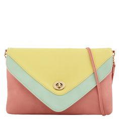YACKEREN - handbags's clutches for sale at ALDO Shoes.    Love this - added it to my collection last week. Great pastel colors.