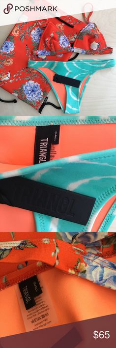 Lotte bikini, both top and bottom small. Lotte bikini, both top and bottom small. No trading. triangl swimwear Swim Bikinis