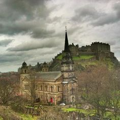 Photo taken at Edinburgh by Historic I. on 4/18/2013