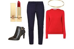 Outfit inspiratie: Lady in red