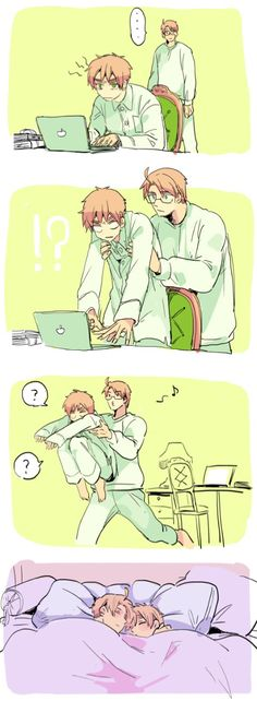 I don't ship USUK but this is cute