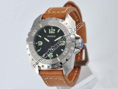 Parnis 44mm Green Number Luminous Submariner Model - Automatic - Parnis watch station