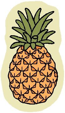 ABC's of Healthy Foods: Fruits: P = Pineapple: cures gout and prevents sinusitis.