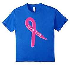 Think Pink Ribbon Breast Cancer Awareness Team Support Shirt. Get it here: https://www.amazon.com/Ribbon-Breast-Cancer-Awareness-Support/dp/B01LZYSOM1 #cancer #breastcancer #breastcancersupport  #cancershirt #tshirt