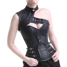 Latest trends for women's gothic corsets at Crazyinlove. Find gothic corsets, steampunk corsets, underburst corsets and metal boned corsets for women. Steampunk Fashion, Gothic Fashion, Gothic Steampunk, Fashion Outfits, Womens Fashion, Fashion Tips, Fashion Design, Fashion Clothes, Style Fashion