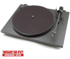 Project ESSENTIAL 2 Black | Turntable | Richer Sounds
