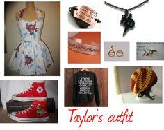 """Taylor's Harry Potter outfit"" by torsdoddlove ❤ liked on Polyvore"