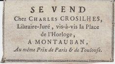 Croisilhes, Montauban - début 19e s.