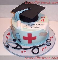 nursing school graduation cake... I want
