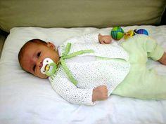 Ravelry: Cecily Baby Sweater by Alicia Paulson