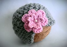 Hey, I found this really awesome Etsy listing at http://www.etsy.com/listing/113080382/baby-girl-hat-gray-crochet-baby-girl-hat