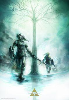 -Conquer yourself!- by ~R-SRaven on deviantART The Legend Of #Zelda #Link #Nintendo