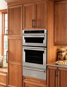 "Learn about features and specifications for the 27"" Combination Wall Oven with Even-Heat™  True Convection (lower oven) (KOCE507ESS)"