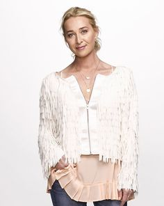 Asher Keddie: 'The life balance is not achievable' Flannel Outfits, Boho Outfits, Wedding Cardigan, J Aton Couture, Cute Jackets, Linen Dresses, Jacket Style, Boho Fashion, Women Wear