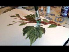 Painting Grape Vines for Karen N
